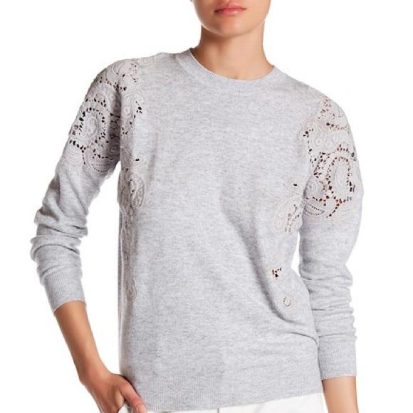 ecd1efd47 Ted Baker London Tae Lace Sweater. M 5afe01173800c53c0a5b60da